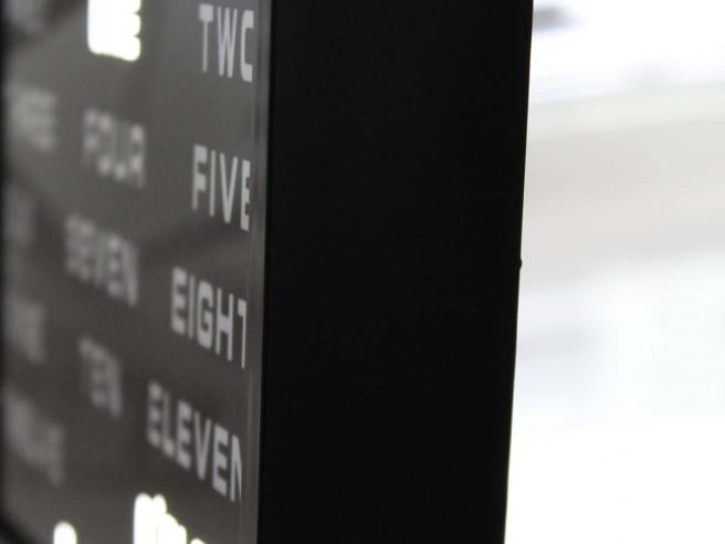 Horloge à Mots LED