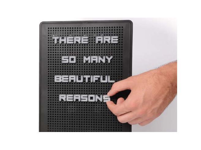 Retro-Stecktafel Peg Board