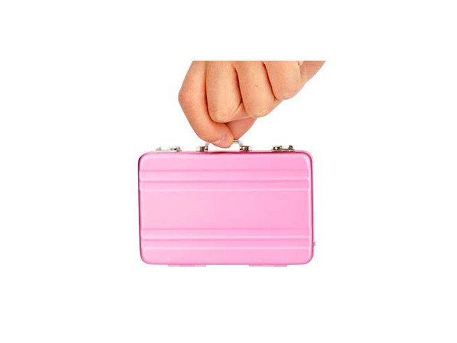 Mini Valise Porte Cartes