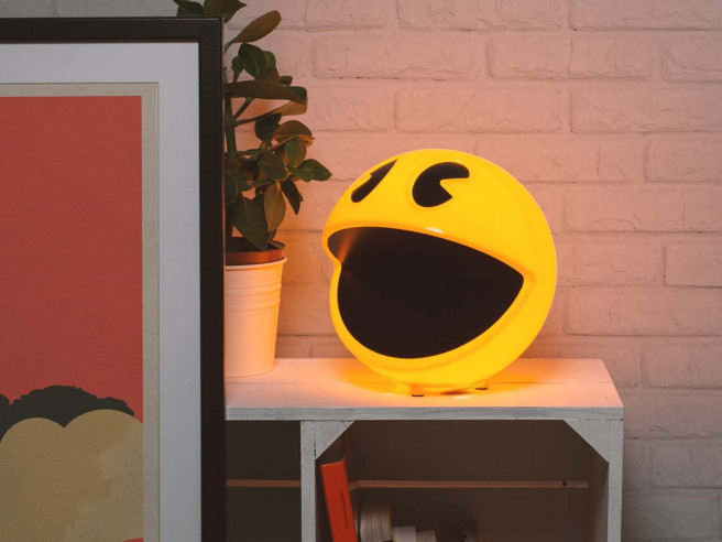 Pac-Man Lampe
