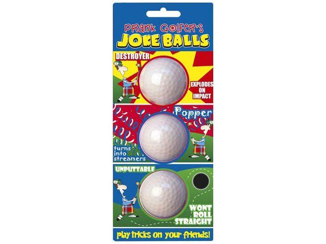 Scherz Golfbälle