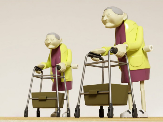 Racing Grannies - Course de mamies