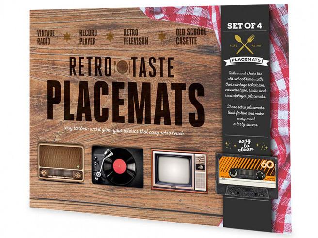 Retro Placemats (4 stuks)