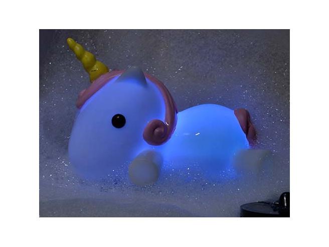 Leuchtender Einhorn Badewannenstöpsel