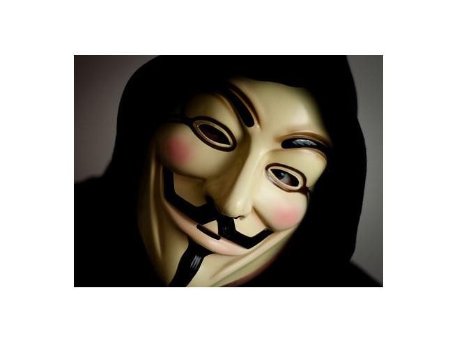 Guy Fawkes V-Maske