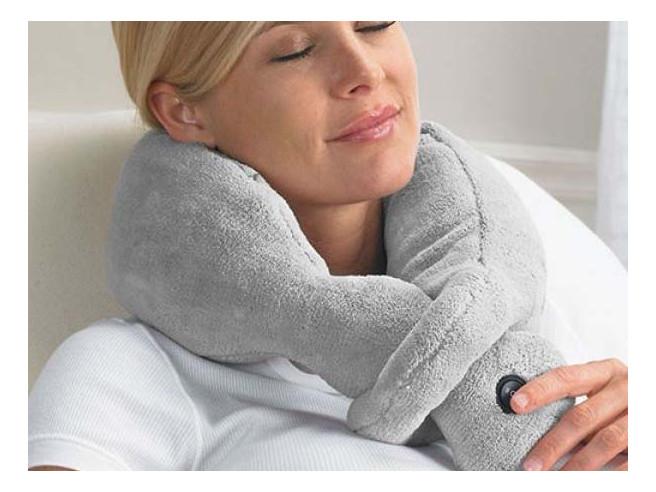 Massage Nackenkissen Vibrierend