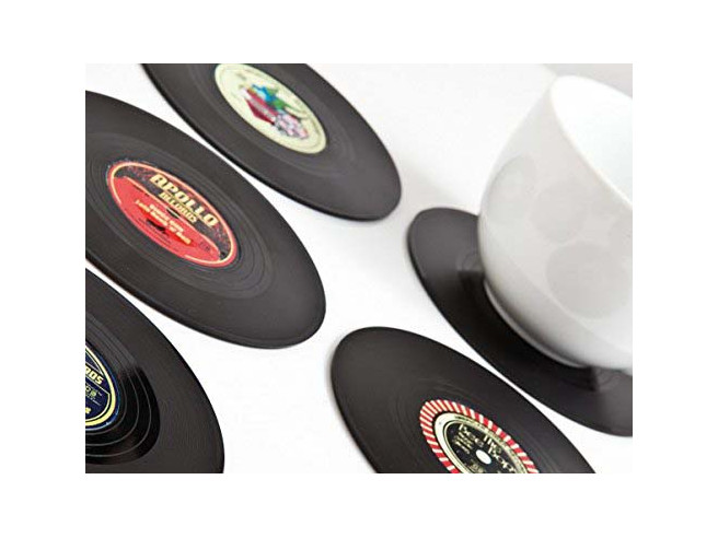 Vinyl Coasters Rockabilly