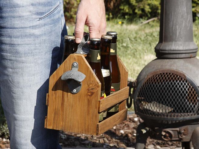 Wooden Beer Tray