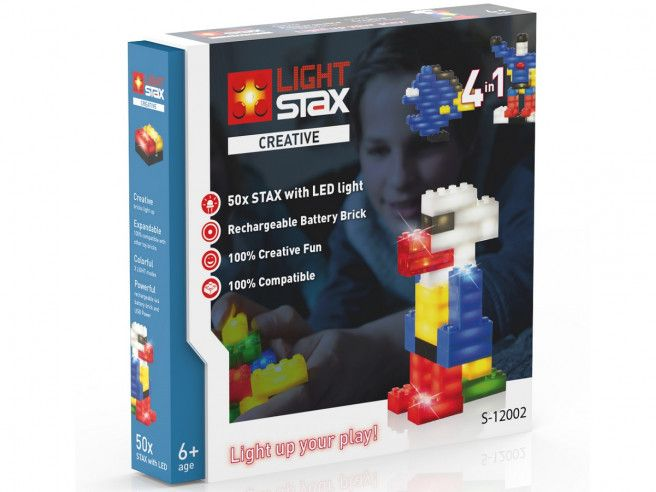 Light Stax - leuchtende LED Bausteine