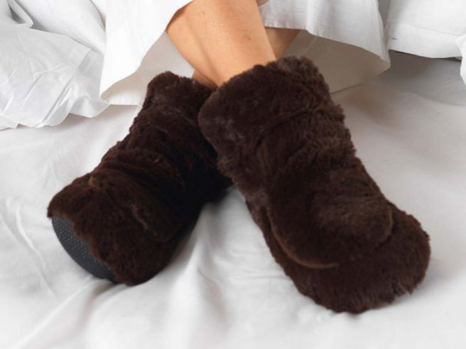 Microwave Slippers