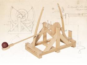 Catapulte de Léonard de Vinci