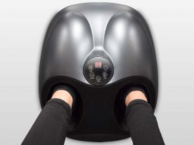 Appareil Massage Pieds Chauffant Shiatsu