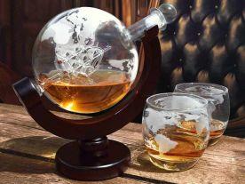 Whiskey Wereldbol Karaf