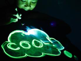 Glow Sketch Kussensloop