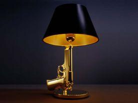 Golden Gun Lamp