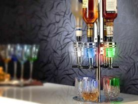 Led Bar Butler 4 Bottles