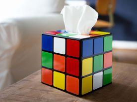 Magic Cube Tissue Holder