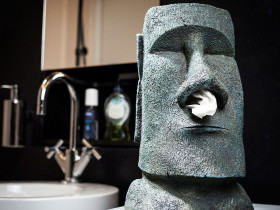 Moai Tissue Holder
