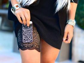 Sassy Stash Strumpfband-Tasche