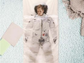 Sleeping Bag Astronaut