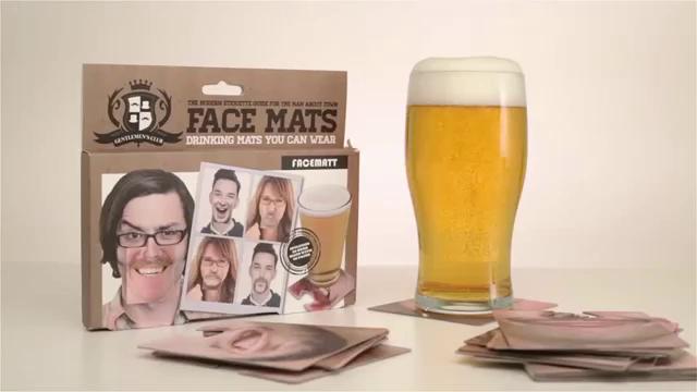 Sous-verres Face Mats (20 pièces)