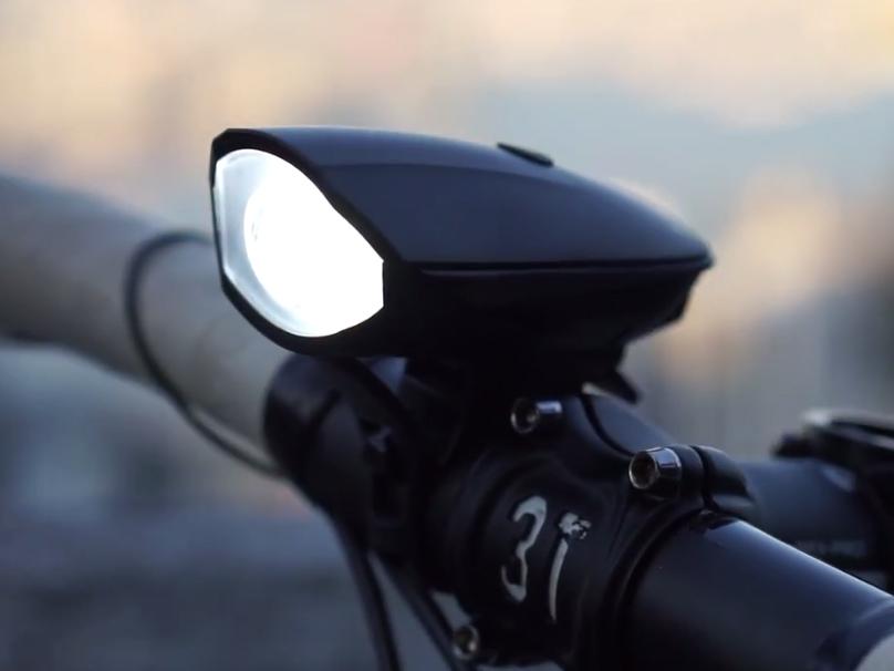 Hornit dB120 Fahrradhorn mit Licht