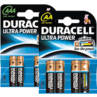 Duracell Ultra Power AA oder AAA Coupon