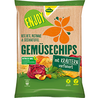 Kühne Enjoy Gemüsechips Coupon