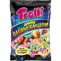 Trolli Saure Glühwürmchen Coupon