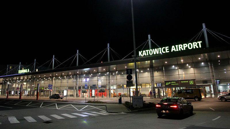Informacja na temat połączeń z lotniska w Katowicach