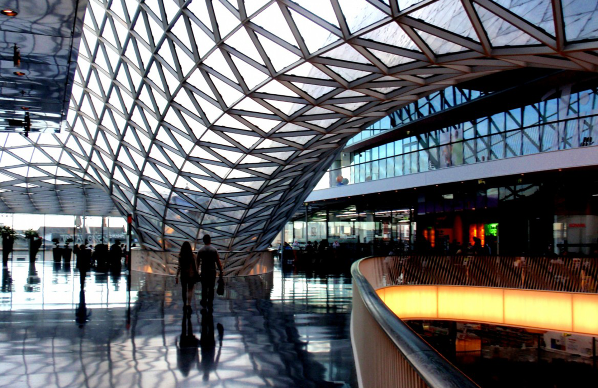MyZeil shopping centre Frankfurt parking