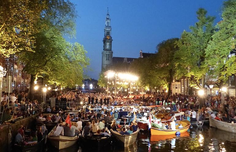 Grachtenfestival Festival Amsterdam musique