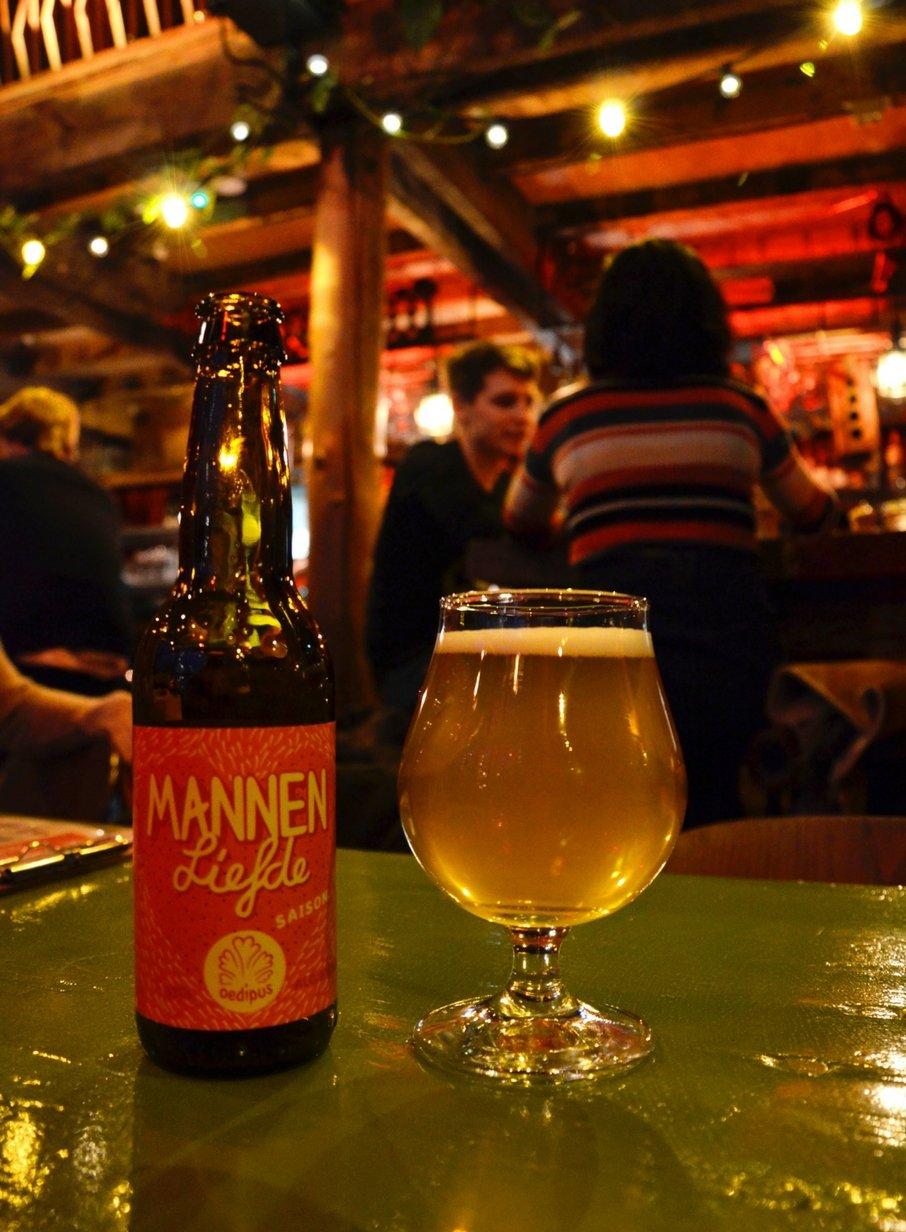 Mannen Liefde bier
