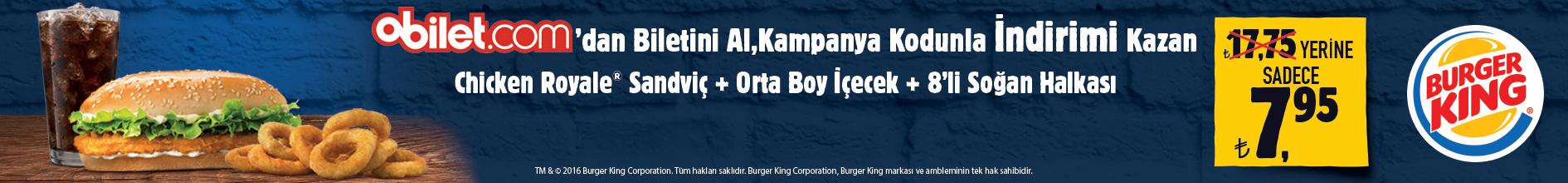 Burger King® Kampanyası
