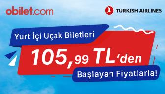 Türk Hava Yolları 8-9 Ocak 2020 Kampanyası