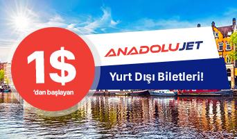 AnadoluJet, Ucuz Anadolu Jet Uçak Bileti Fiyatları - obilet.com