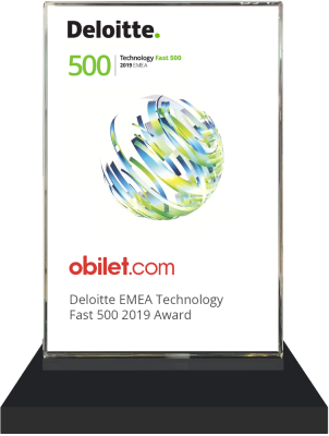 obilet.com - Deloitte Technology Fast 50 Turkey 2019 Ödülü