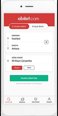 obilet.com Mobil Uygulaması