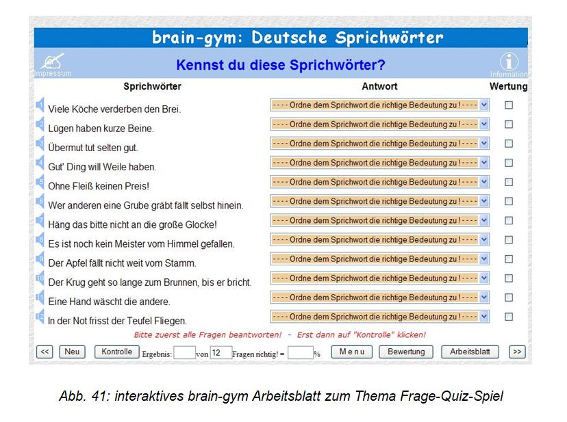 BRAIN-GYM für den DaF-Unterricht
