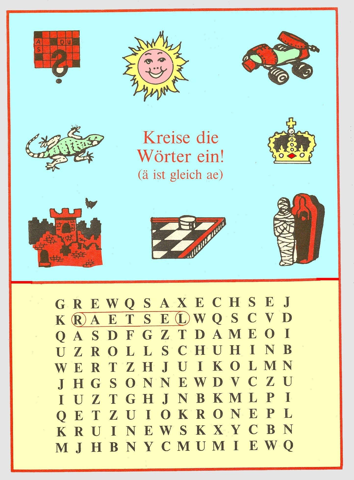 Wörtersuchspiele