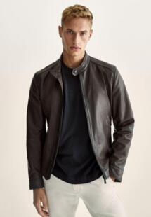 Куртка кожаная Massimo Dutti IX001XM00CQ9INXXL