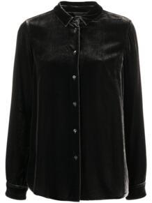 бархатная рубашка с длинными рукавами ASPESI 158861555250
