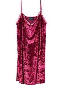 бархатное платье-комбинация Marc by Marc Jacobs 167752634848