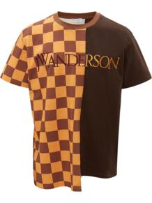 CHECKERBOARD PATCHWORK T-SHIRT JW Anderson 167791818876