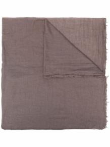 шарф с бахромой Rick Owens 17007543636363633263
