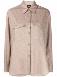 buttoned-up long-sleeved shirt ASPESI 170877275252