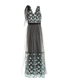 Длинное платье Cavalli Class 34986186QQ
