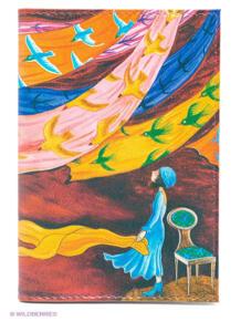 """Обложка для автодокументов """"Платки и птицы"""" Mitya Veselkov 1866459"""