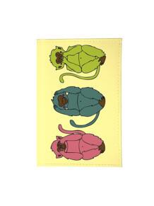 Визитница три обезьяны Mitya Veselkov 2494687