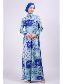Платье водолазка макси Bella Kareema 4474526